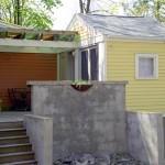 photo of Maison Mango playhouse exterior and deck