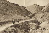 old raod from Jericho to Jerusalem